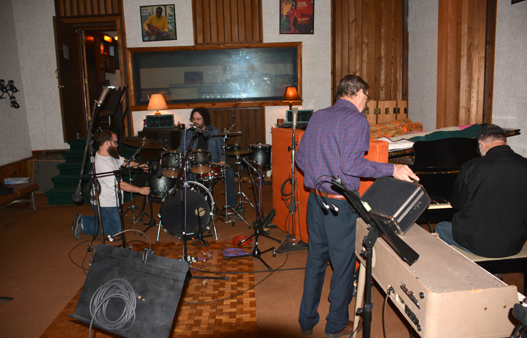 Session Artists Set Up In FAME Studio A  - OR