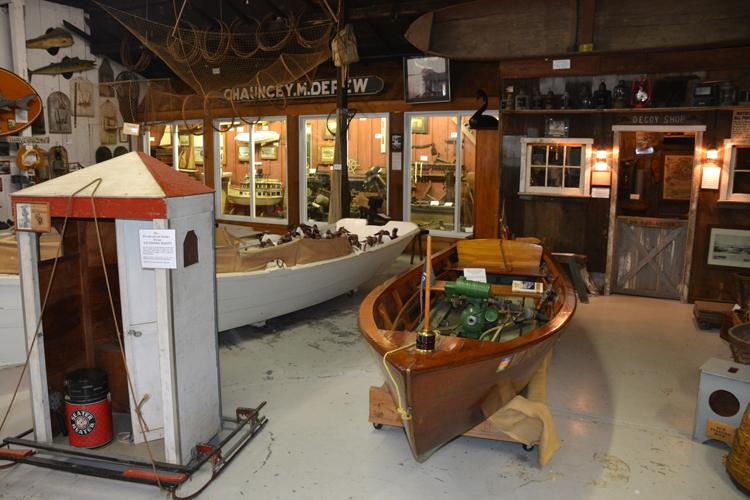 Upper Bay Museum - Floor Exhibits