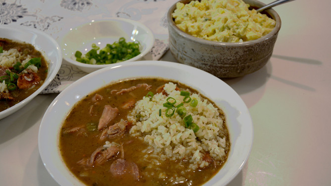 Rabbit & Andouille Sausage Gumbo -- Try This Recipe with Your Next Batch of Cottontails