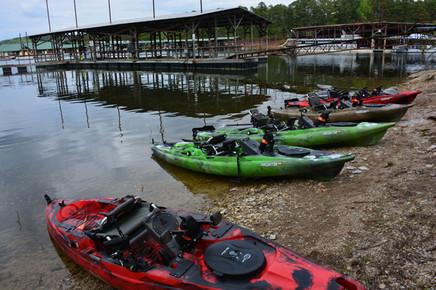 Old Town Kayaks awaiting anglers-2