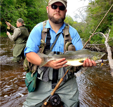 Northern Michigan a Fishing, Hunting Wonderland - Did Someone Say 'Salmon on the Fly'?
