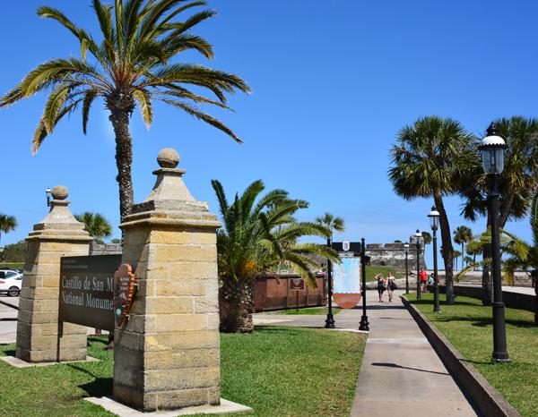sign-castillo de san marcos - outdoors r