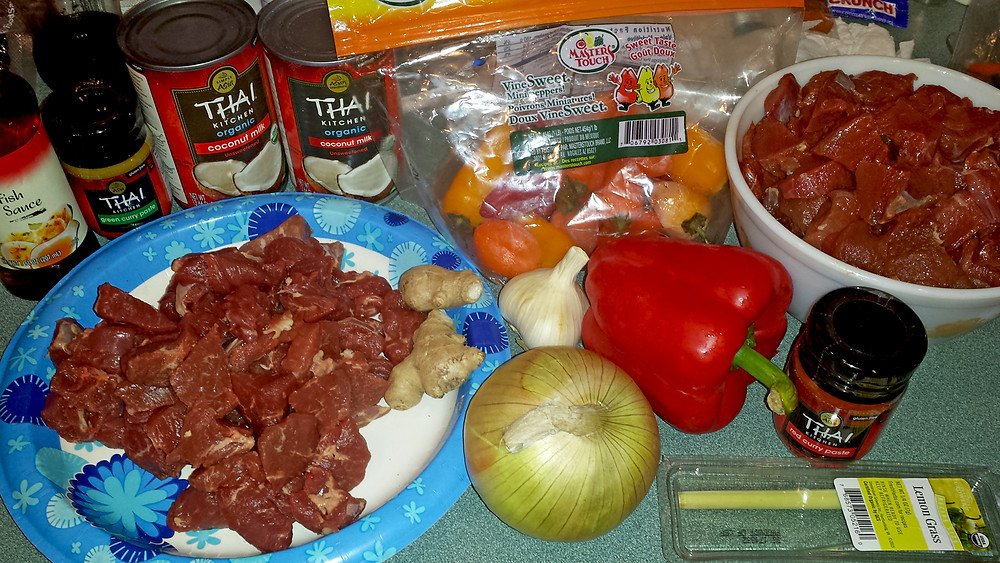 venison red curry wild game recipes