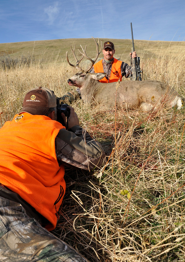 Montana - Chad Schearer is an expert at getting excellent post-hunt photos