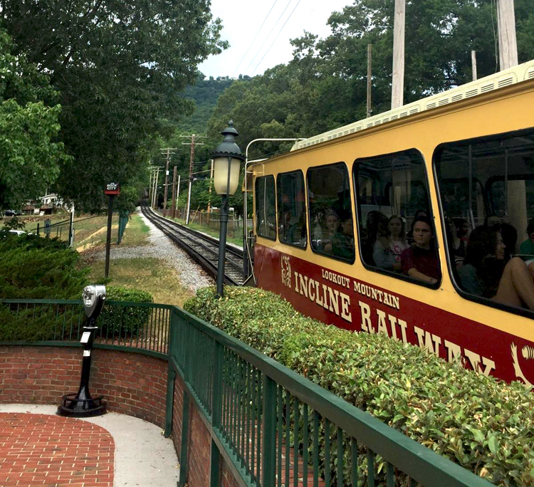 Incline Railway to Lookout Mountain