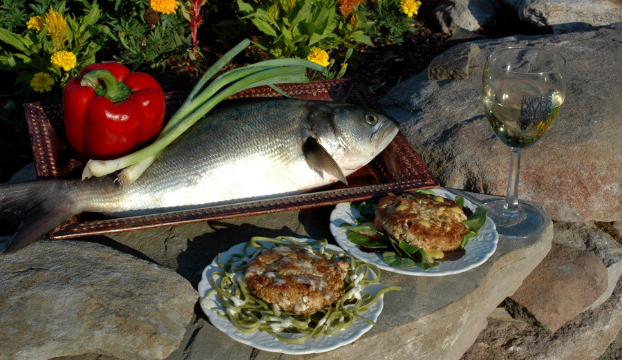 wild game and fish cooking recipes bluefish cakes