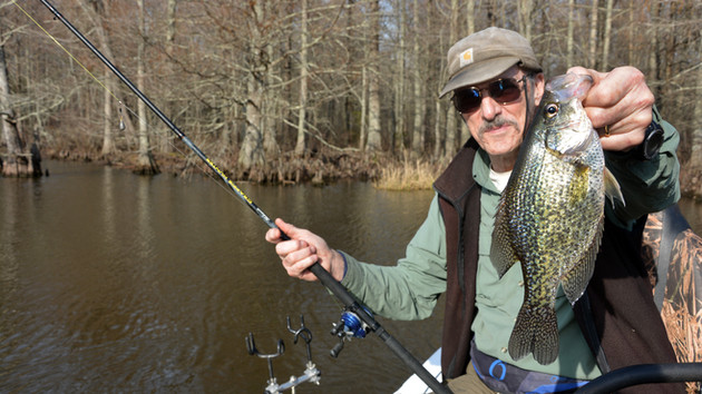 Crappie Fishing the Historic Chickahominy River - Stately Cypress Trees, Scenic Beauty, Hungry Fish