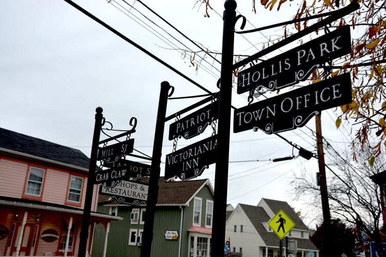 Maritime Museum- St Michaels street signs