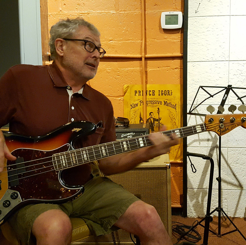Muscle Shoals - David Hood - legendary bassist with Muscle Shoals Rhythm Section - Ken Perrotte photo