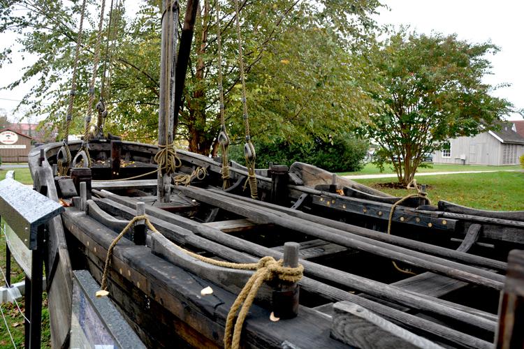 Maritime Museum- Replica of John Smith Shallop