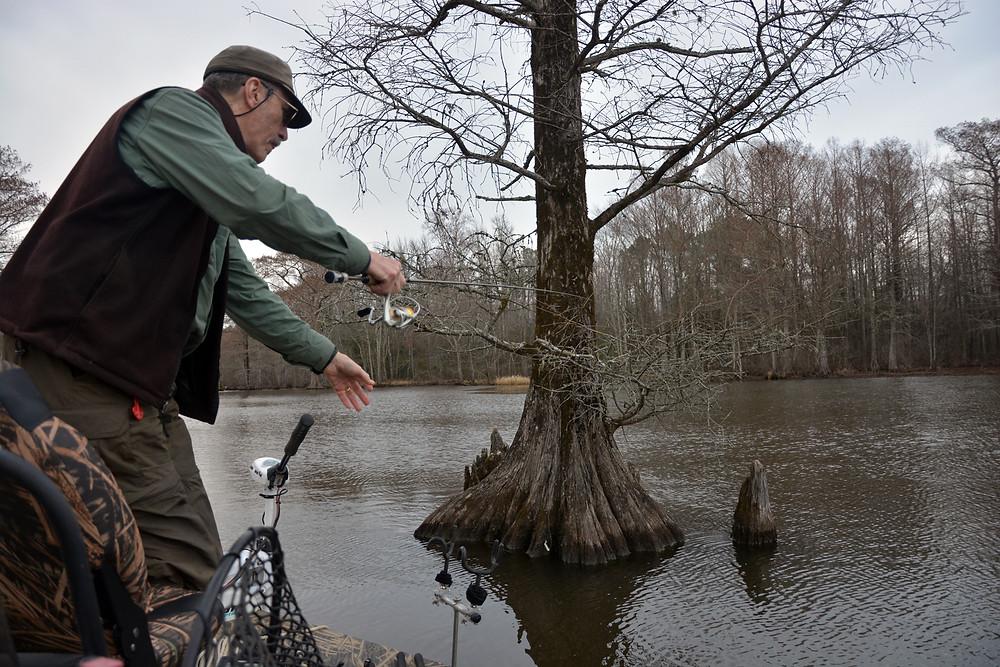 crappie fishing Virginia Lake Chickahmony