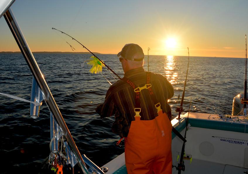 A morning full of fishing promise