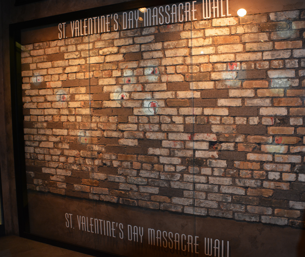 Mob Museum St. Valentine's Day Wall