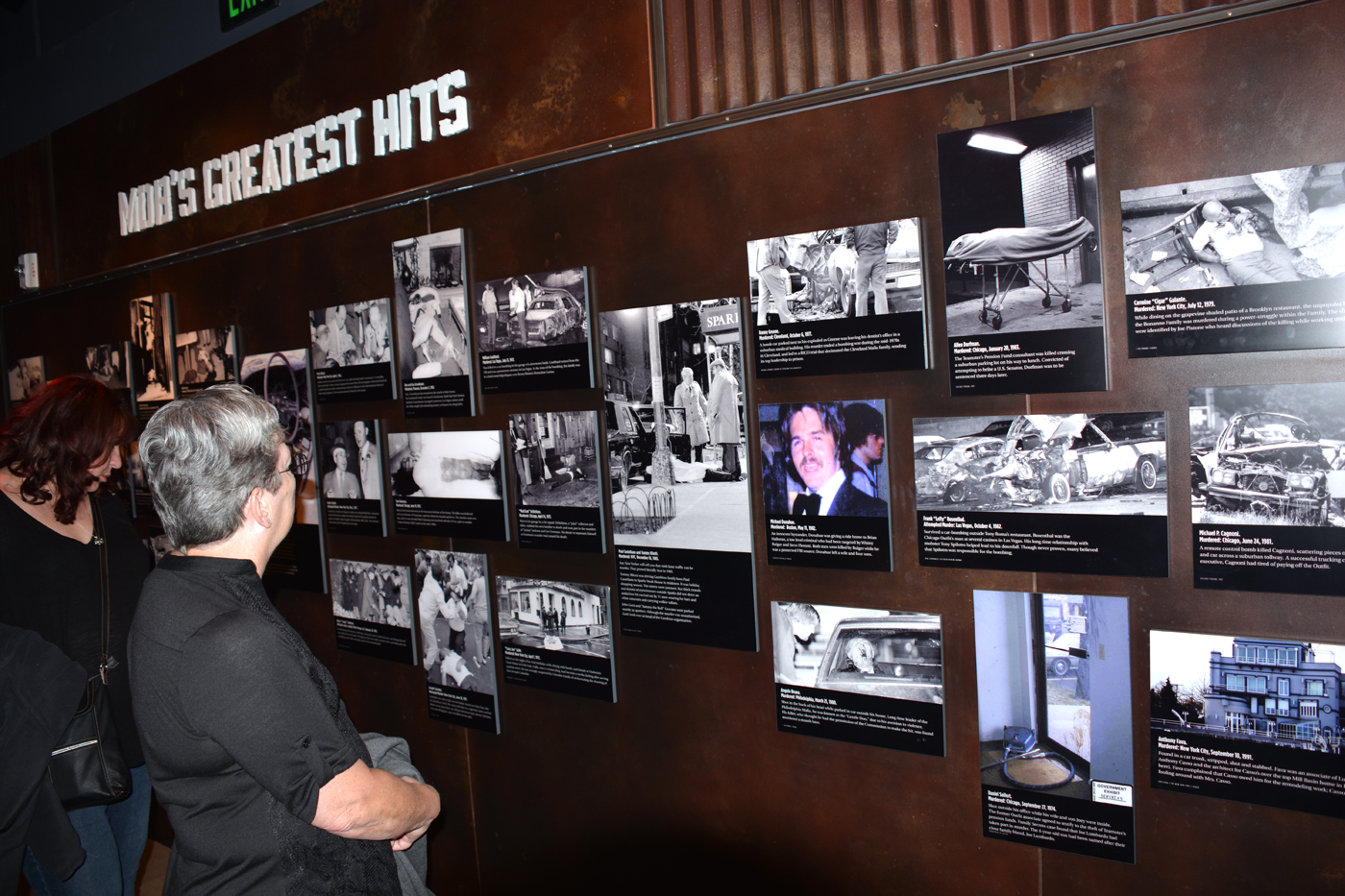 """Mob Museum - Graphic """"Hits"""""""