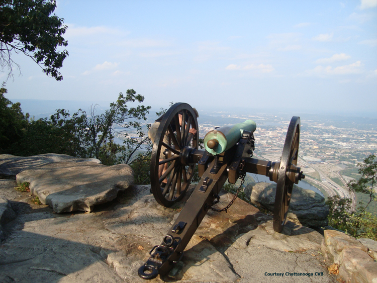 Point Park Cannon Overlook- OR