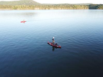 OR-Lake Ouachita kayak fishing 1