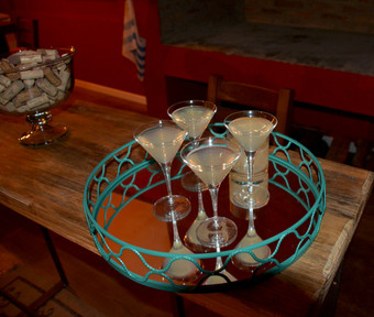 Uruguay Lodge  - post-hunt refreshment