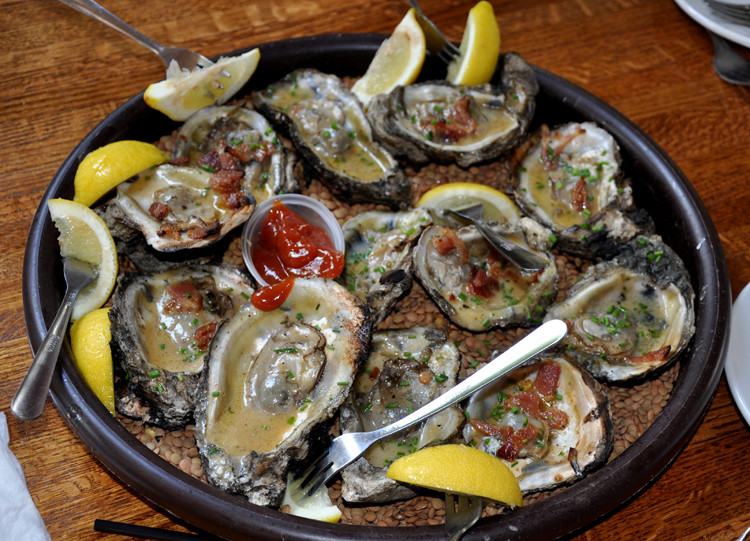 chargrilled oyster recipe