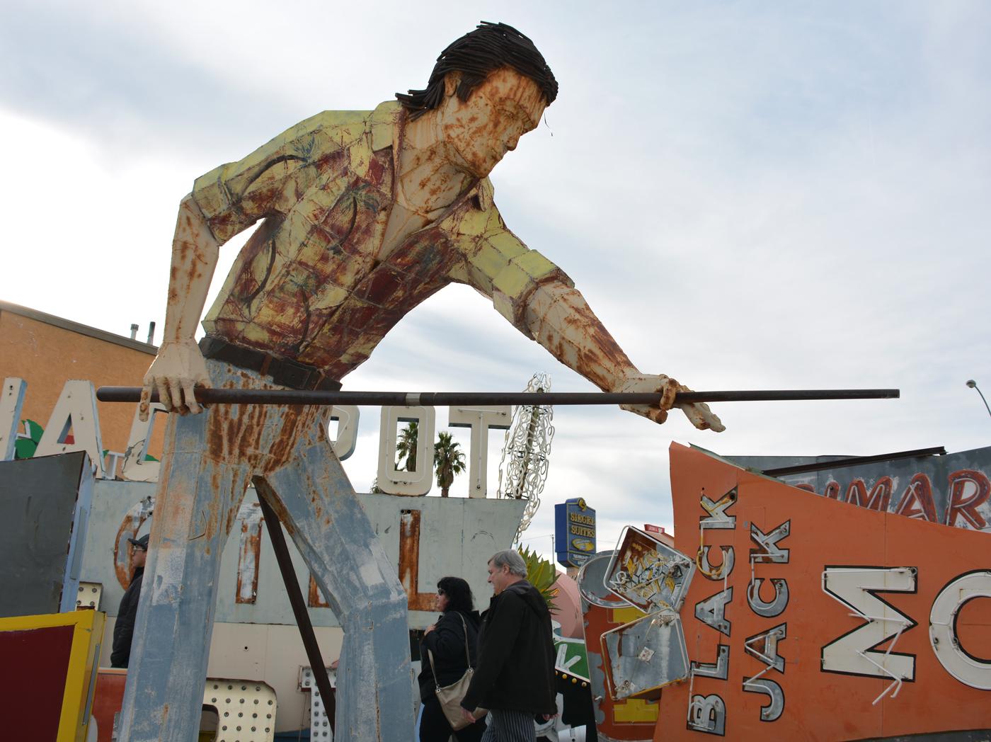 Neon Museum - Mullet Man