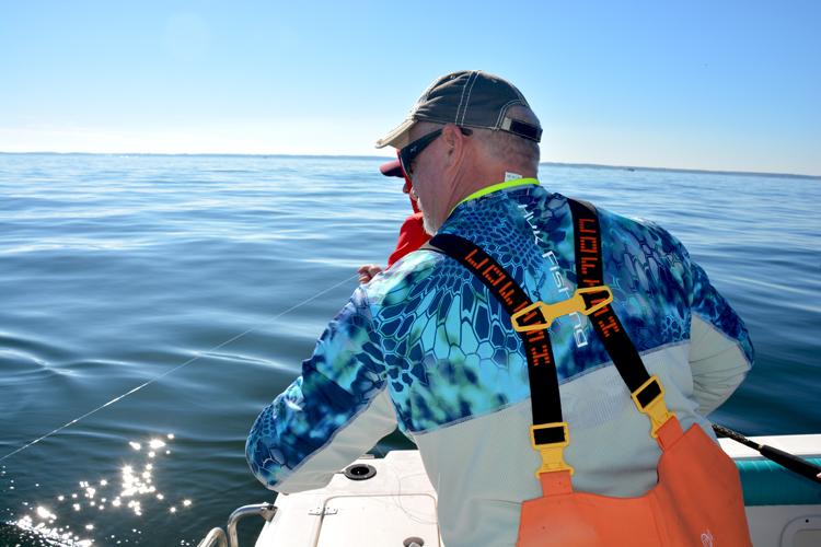 Cap'n Bob Likes his Huk Fishing Gear