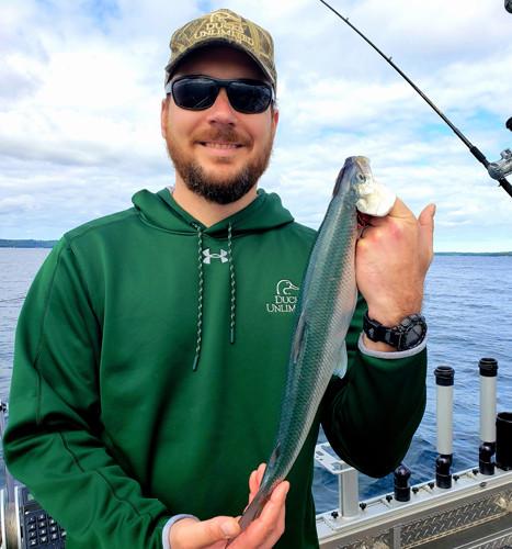 Cisco fishing Lake Michigan