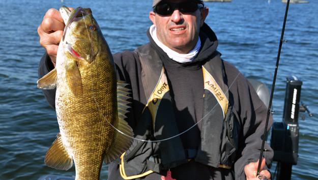 Lake Champlain is Smallmouth Bass Heaven; Panfish & Northern Pike Add to Fishing Fun