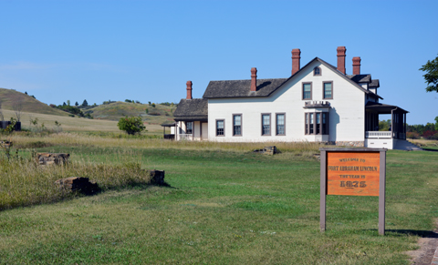 Custer House Fort Lincoln ND