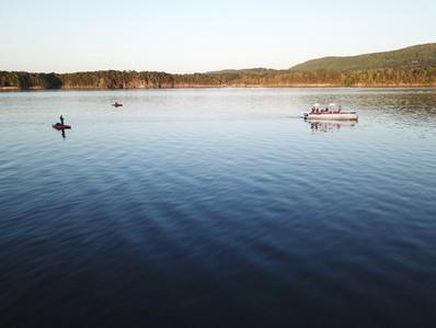 Lake Ouachita kayak fishing - 3