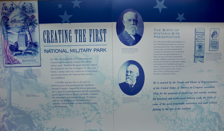 The First National Military Park - OR