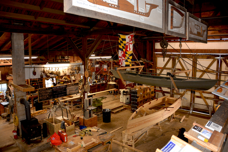 Maritime Museum-Boat Building Workshop