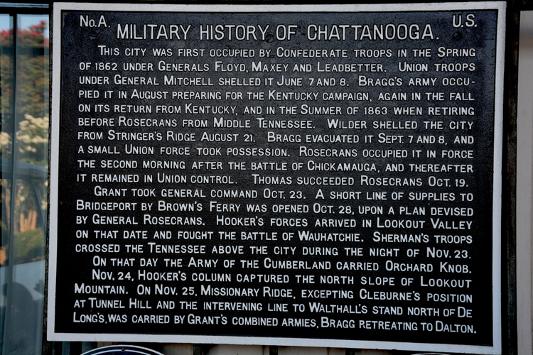 Chattanooga's Military History-OR