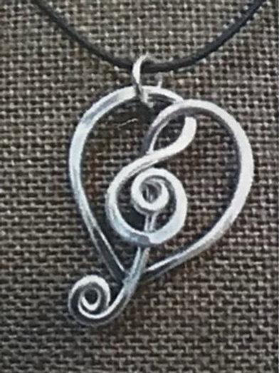 For the Love of Music Earrings