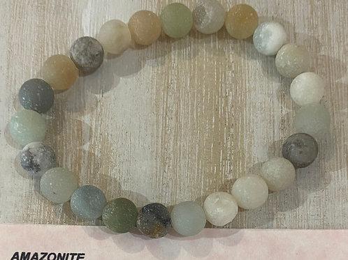 Amazonite Gem Bracelet