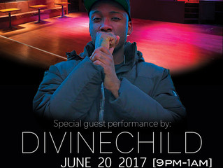 DivineChild's upcoming show and how he could of performed at Oakdale Theater to open for Rick Ro