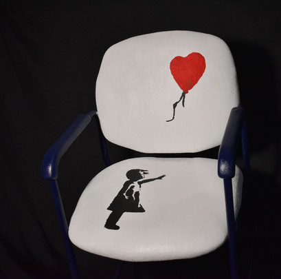 """After Banksy """"Girl with Balloon"""""""