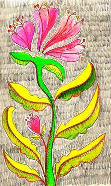 Sketchbook floral