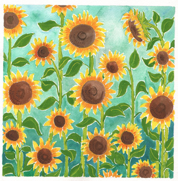 Stand Up Sunflowers