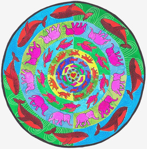 Mandala to the Animals