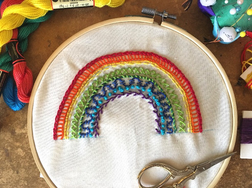 Rainbow Sampler
