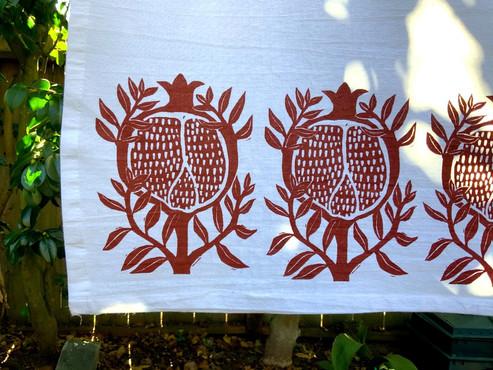 Pomegranate Teatowel