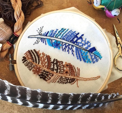Feathers Sampler