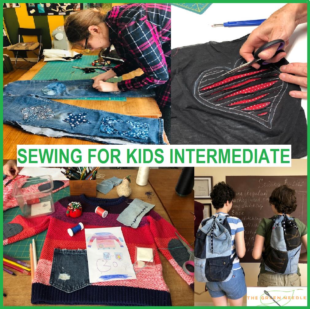 Sewing for Kids - Intermediate (FULL)