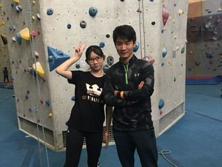 Rock Climbing @ Central Rock Gym