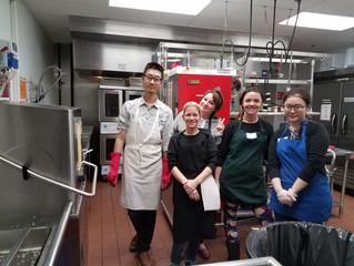 Volunteering @ Nashua Soup Kitchen