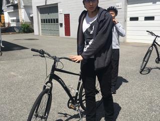 Biking Through Massachusetts