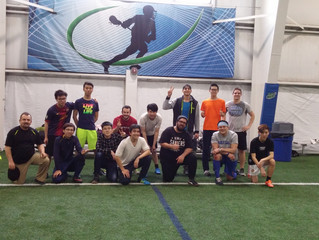 Staff-Student Soccer Game