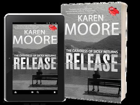 Karen Moore and her new book, Release