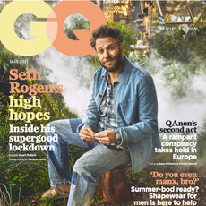 As seen in GQ: May 2021.
