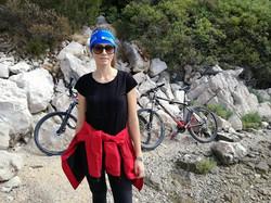 bike and sailing croatia murter korn