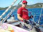 jedrenje murter jezera,kiteboarding croatia